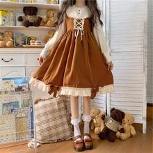 Costumes Lolita-Clothes Clothing Girls Sweet Vintage Princess Women Kawaii for Vestidos