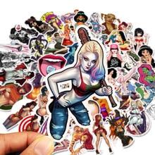 100PCS Sexy girls Erotic Sticker Graffiti Stickers for DIY Sticker on Travel case Laptop Skateboard Guitar Fridge phone