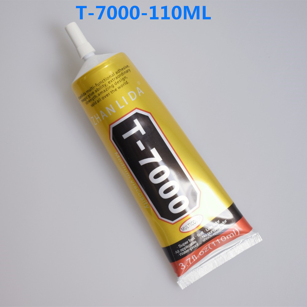 1pcs 110ML T7000 Multi PurposeT-7000 Super Black Epoxy Resin Cellphone Repair Sticky Screen Glue