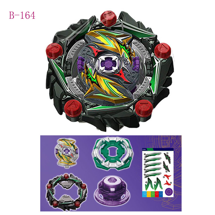 Hot Beyblad Burst B-165 BOOSTER KING HELIOS Zn 1B Bayblades Bays Bable Metal Left Top Gyroscope Toy No Launchers Boy