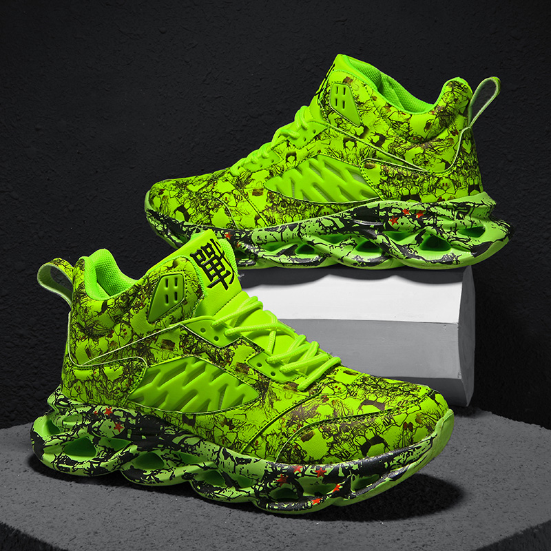 Doodle Basketball Shoes 47 Light Men's Sneakers 46 Large Size Comfortable Sneakers 45 Fashion Walking Jogging Casual Shoes