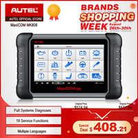AUTEL MaxiTPMS TS601 TPMS tool Car Diagnostic OBD2 Scanner Automotive Tool  Activate Tire Sensor TPMS programming Code Reader