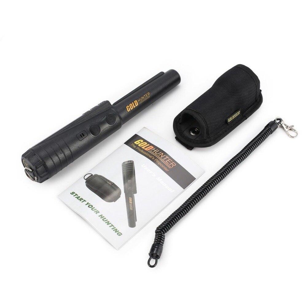Chasseur d'or professionnel Pinpointer détecteur de métaux détecteur souterrain capteur intelligent son vibrer alarme chasse