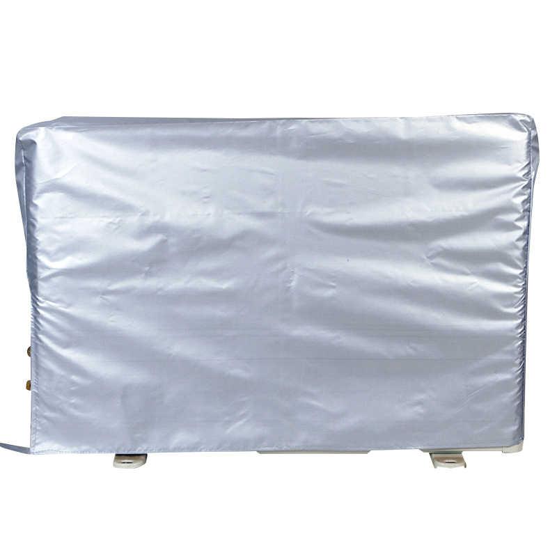 Cubierta para acondicionador de Aire Exterior Antipolvo Anti-Nieve Impermeable Resistente al Sol para el hogar tama/ño: 3p 92 35 69 Cubierta Antipolvo para Aire Acondicionado