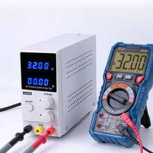 Voltage Regulators Power Stabilizers Variable 30V 10A Adjustable High Precision Memory Function 4 Digits DC Power Supply