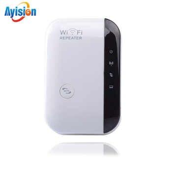 Répéteur WiFi sans fil Extender Wifi 300Mbps amplificateur Wi-Fi 802.11N/B/G Booster répétidor Wi-Fi Reapeter routeurs de Point d'accès