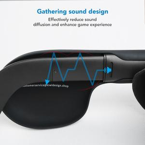 Image 3 - KIWI design Silicone Ear muffs for Oculus Quest/ Quest 2 VR Headset, A Enhancing Sound Solution for Quest 2 (1 Pair)