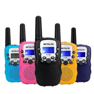 Image 3 - Портативная рация RETEVIS RT388, Детские рации, 2 шт., мини двухсторонняя радиостанция PMR, Рождественский подарок/для семейного использования/кемпинга, 100 800 м