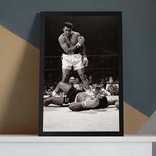Classique Muhammad Ali toile peinture célèbre Boxer inspirant affiche et imprimer des images d'art mural pour salon décor à la maison
