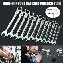 Atividades ferramentas de catraca engrenagens de torque chaves flexíveis ferramenta chave inglesa de bicicleta de dupla finalidade chave em estoque