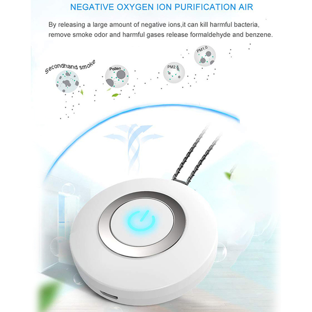Purificateur d air Portable portatif de XMX USB Mini assainisseur d air d ion n gatif