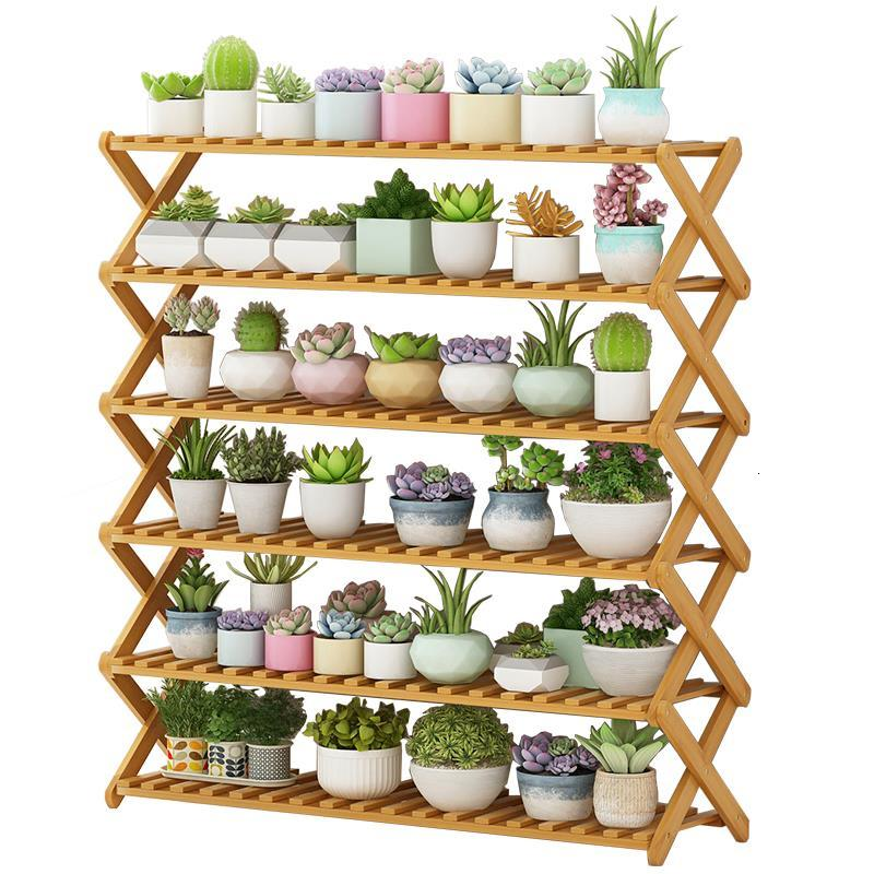 Macetas Varanda Wood Saksi Standi Garden Shelves For Indoor Plant Rack Dekoration Stojak Na Kwiaty Balcony Shelf Flower Stand
