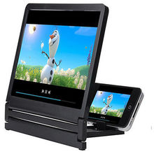 Soporte para teléfono móvil con aumento de pantalla 3D