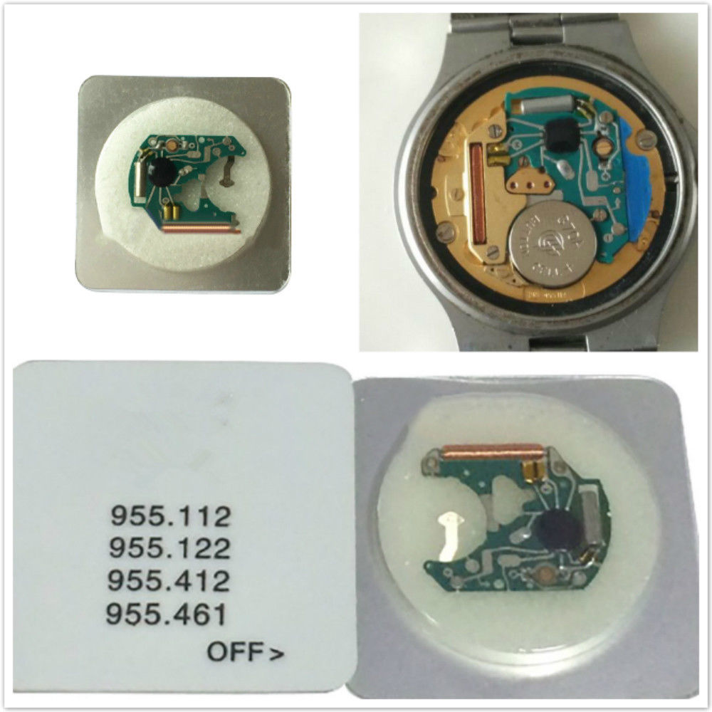 Quartz Watch Movement Circuit Board For ETA 955.122 955.112 955.412 955.461  Movement Replacement Chip PCB Board