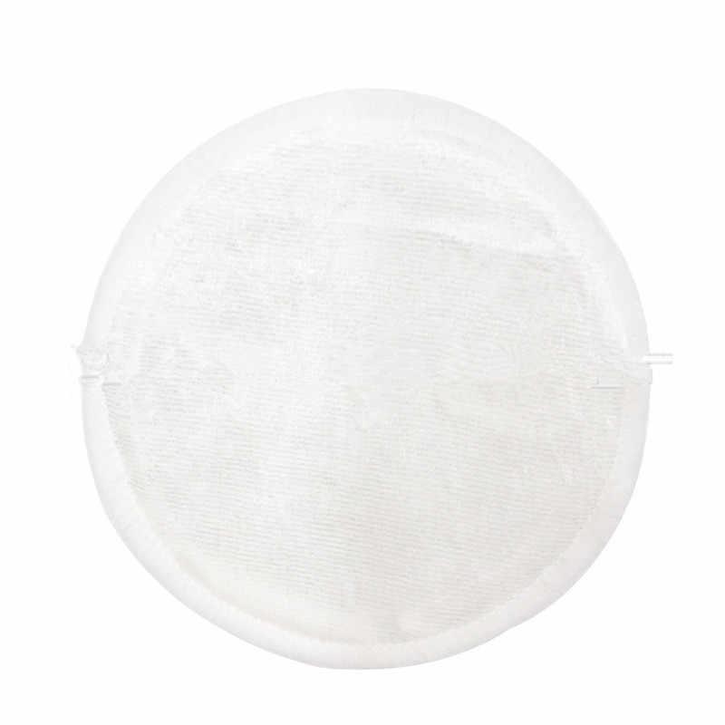 قابلة لإعادة الاستخدام الخيزران الألياف قابل للغسل وسادة ، الخيزران الألياف ماكياج مزيل الخيزران القطن التطهير القطن قابل للغسل إعادة التدوير