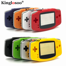 35 Colors Full set housing cover screen lens shell case rubber pad buttons for Game Boy Advance GBA console replacement