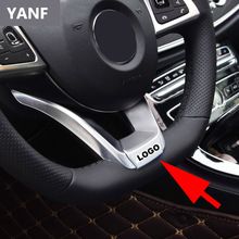 Steering Wheel For AMG Logo Cover Metal Emblem Sticker For Mercedes Benz CLK GLA GLB GLC GLE GLK GLS W203 W204 W205 W207 W209