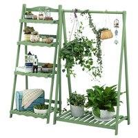 Büro Blume Rack Einfachheit Massivholz Schaukel Blume Rack EIN Wohnzimmer Grün Luo Chlorophytum Regale Blumentopf Rahmen Innen