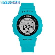 Digital Watch SYNOKE Kids Boy Timing Girls Sport Waterproof Alarm Multifunction Outdoor