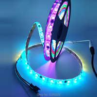 WS2811 1 ic control 3 led IC smart fahrer chip können adresse Pixel LED Streifen licht DC12V band lampe Programmierung 30/60 leds/m