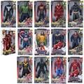 Экшн-фигурка супергероев Marvel, Черная пантера, Мстители, танос, Капитан Америка, Тор, Железный человек, Человек-паук, халкбастер, Халк
