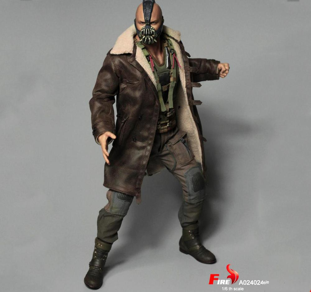 For Collection FIRE A024 1/6 Batman Dark Knight Rise Villain Bane Figure Collectible Figure Model Toys   Full Set