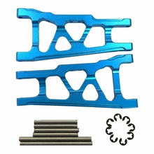 Aluminum Front / Rear Suspension Left & Right A-Arms Stampede Upgrade Parts for 1/10 Traxxas Slash 4X4 heavy duty front steering knuckles for use on all traxxas stampede slash 4x4