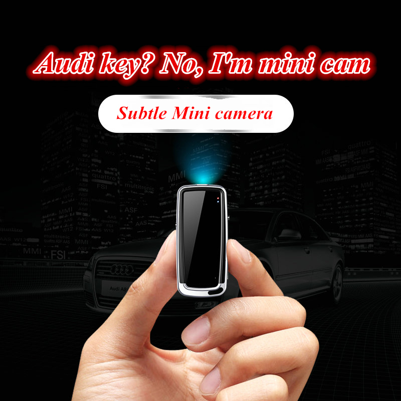 HUAIOU Mini Camera Multifunction Digital Camcorders Micro Car Key Cameras Security DVR Video Recorder Camera Support TF Card 32G