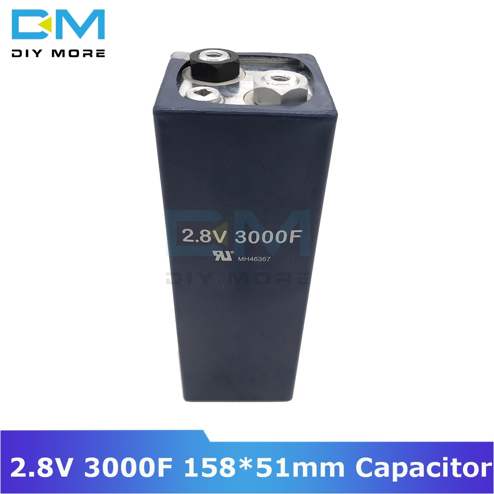 Super Farad Capacitor 2.8V 3000F 158*51mm Low ESR High Frequency Super Capacitor Ultracapacitor For Car Auto Power Supply