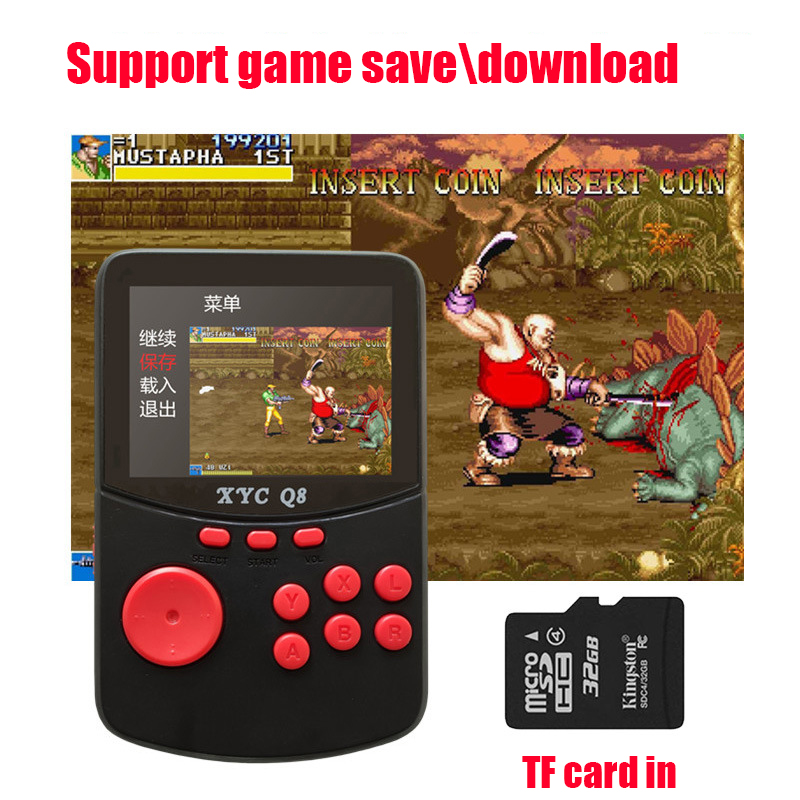 10000 in 1 Handheld Retro Video Game Console For NES MAME MD GBA SFC Games Open Source Arcade Game Player With 512M 32G TF card