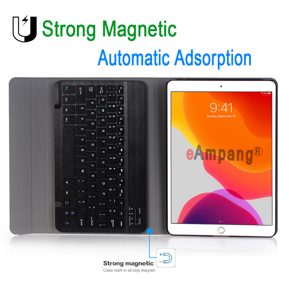 Case 7th A2200 3.0 iPad for Apple Generation 10.2 Case A2198 Bluetooth for Keyboard iPad