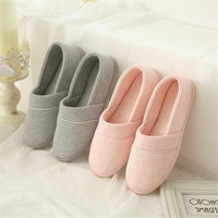 New Winter Autumn At Home Thermal Cotton Padded Slippers Women's Cotton Slippers Indoor Slippers With Soft Outsole Shoes w Kapcie od Matka i dzieci na