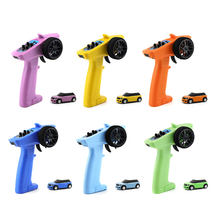 Tubro Racing – voiture RC 2.4G 2WD 3CH, Mini RTR avec lumières, jeux de famille, jouets pour enfants, 1:76