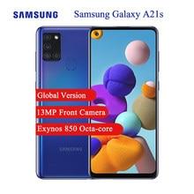 Versão global samsung galaxy a21s 4g celular 6.5