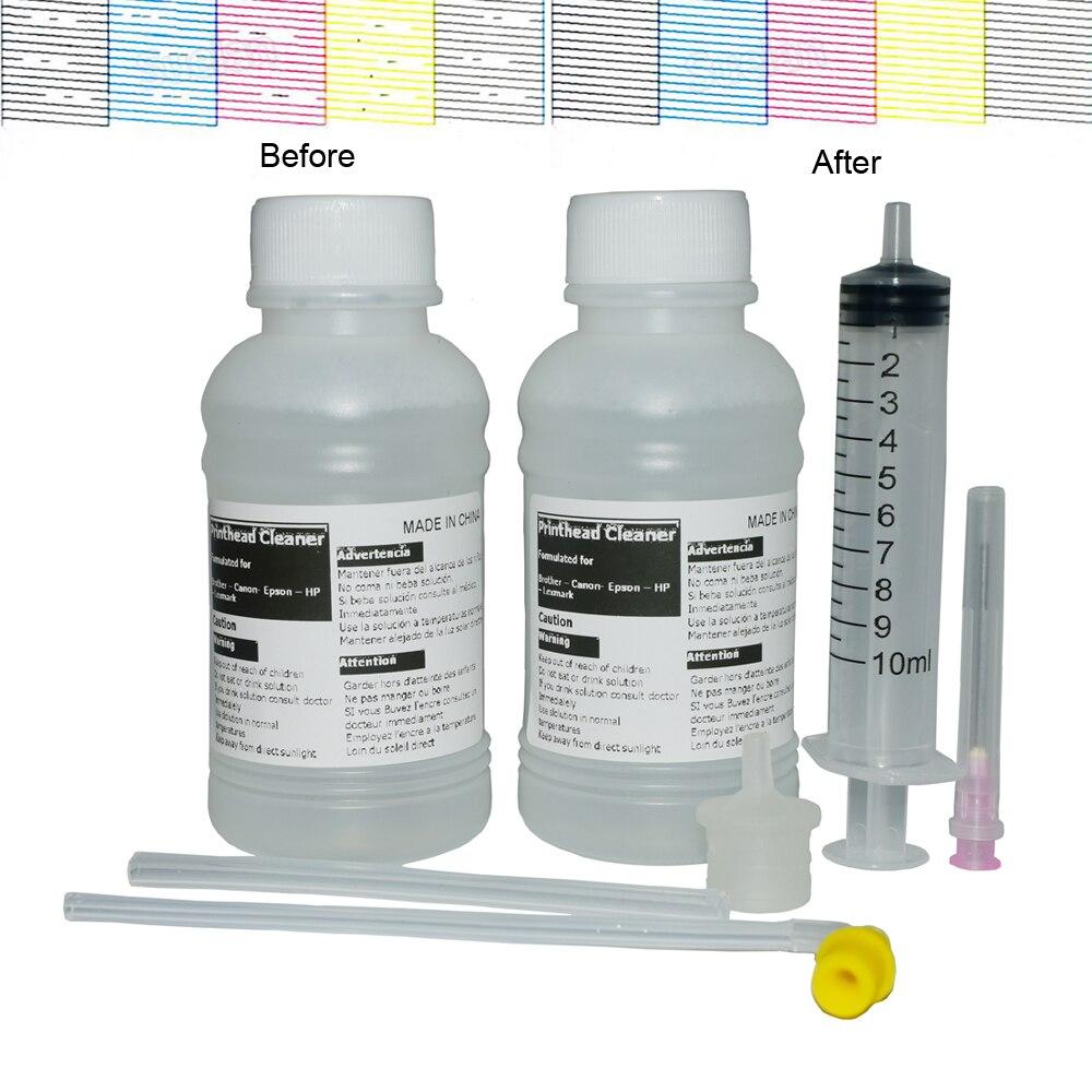 Жидкость для чистки принтера, 200 мл, жидкость для чистки Epson, Canon, HP, Brother, Ricoh, сублимационные чернила, струйный принтер