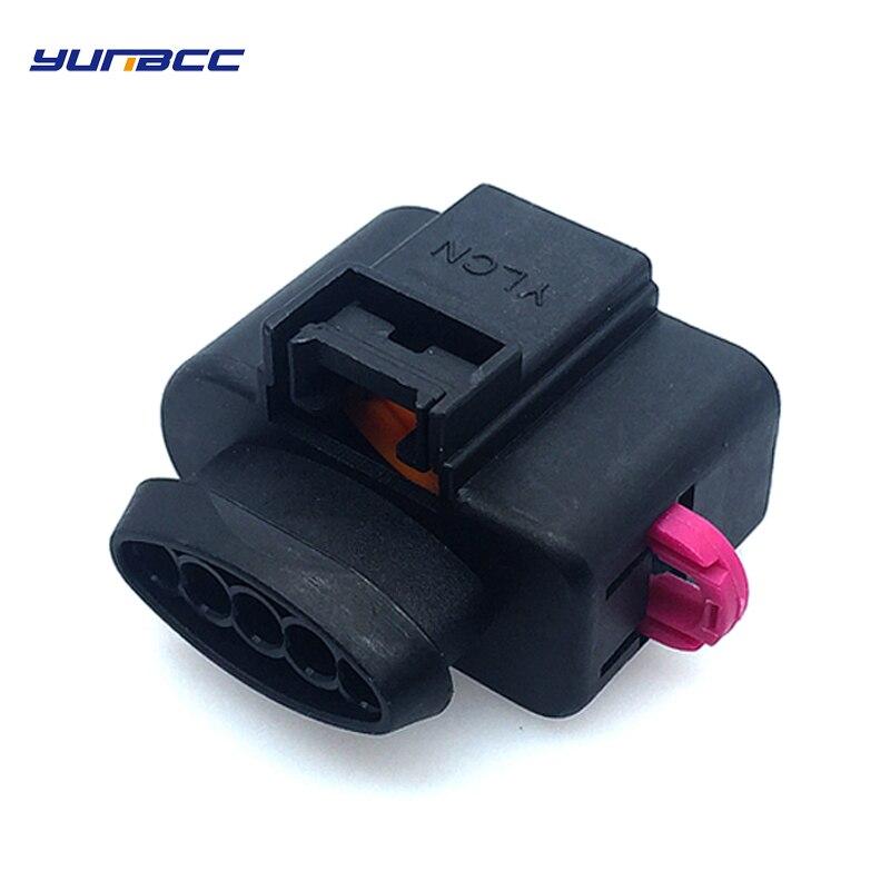 1 Set 5 Pins Automotive VAG Air Flow Meter Wire Connector Plug For Volkswagen Passat Golf Je Tta Tou Areg Audi A3 A4 A6 A8 Q7 TT