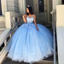 Bealegantom Винтаж светильник Синий бальное платье Бальные платья