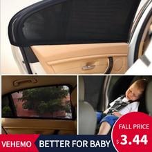 2 шт. автомобильный солнцезащитный козырек с защитой от ультрафиолетовых лучей для автомобиля, занавеска для окна автомобиля, солнцезащитный козырек для бокового окна, летняя Защитная оконная пленка