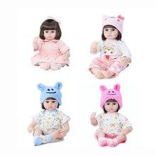 42cm Reborn Doll Lifelike Newborn Simulation Animals Baby Enamel Doll Toy Simulation And Lifelike Baby Vinyl Soft Doll