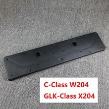 2048850281 держатель номерного знака передний бампер номерного знака Кронштейн для Mercedes-Benz C-Class W204 GLK X204