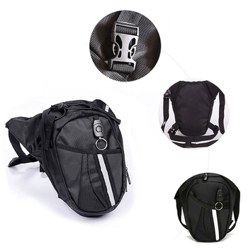 Men Waterproof Oxford Waist Bag Motorcycle Riding Cycling Leg Bags Travel Hip Fanny Pack Phone Pouch Purse Thigh Belt Bum Bag carteras mujer bag steampunk thigh motor leg outlaw pack thigh holster protected purse shoulder backpack purse leather women bag