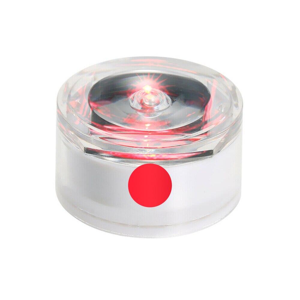 Солнечная Светодиодная лампа для подземного освещения, открытый наземный садовый троп, Напольный Пол, точечный пейзаж, зарытый свет IP67, водонепроницаемый - Испускаемый цвет: red