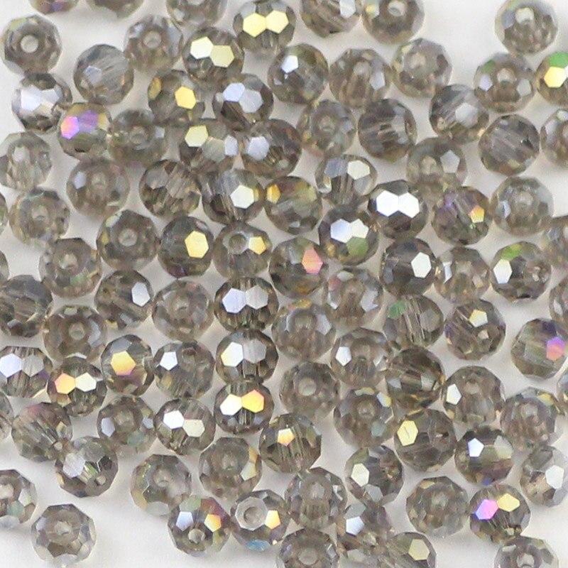 Resin Football Black Crystal Charm Bead