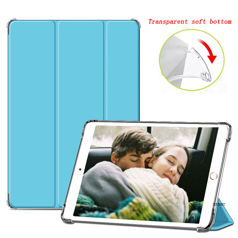 Romantic blue 1 Blue 2020 case For iPad 10 2 inch 8th 7th Generation model A2270 A2428 Silicone soft bottom