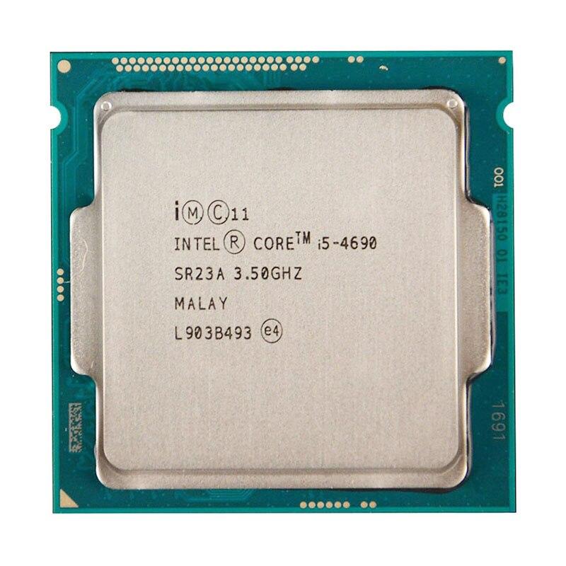 Für INTEL CORE i5-4690 CPU 22nm/6 MB/84 Watt/3,5 GHz/Quad-Core Socket LGA1150 i5 4690 CPU