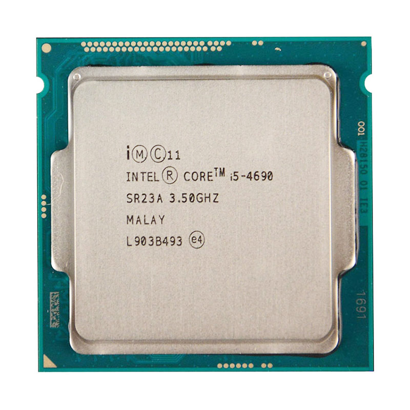 For INTEL CORE <font><b>i5</b></font>-<font><b>4690</b></font> CPU 22nm/6MB/ 84Watt/3.5GHz/Quad-Core Socket LGA1150 <font><b>i5</b></font> <font><b>4690</b></font> CPU image