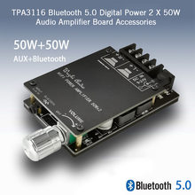TPA3116 Audio Amplifier Board Accessories Bluetooth 5.0 Speaker Stable Signal Protective Wireless 2 X 50W Digital Power Sound(China)