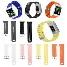Silicone Lightweight Ventilation Sport Watch Bracelet for Fitbit Ionic Smart Accessories Adjustable ReplacementWrist Strap