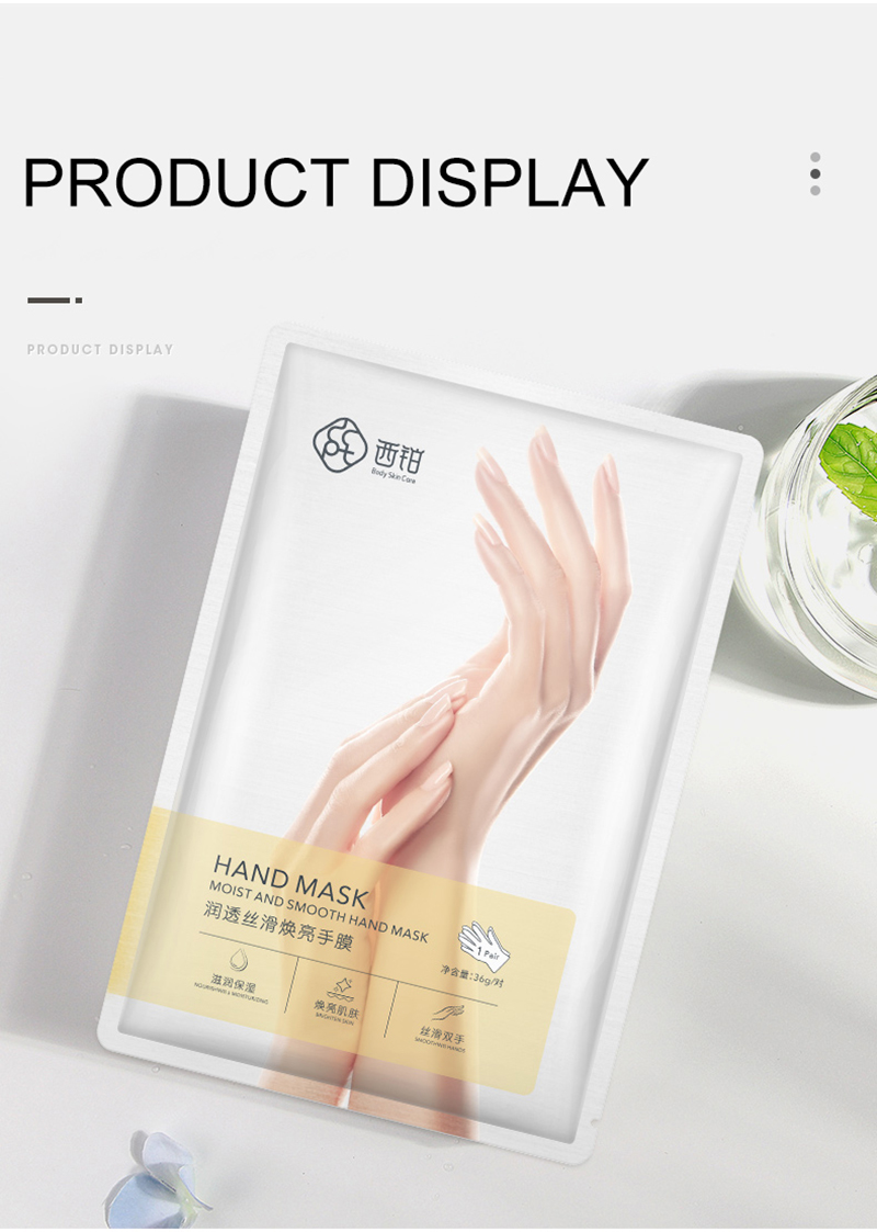 1 set=12 pcs=6 pairs Moisturizing Soft Hand Mask avocado Dead Skin Remover Smooth Whitening Anti-Aging Hand Care Hand Mask
