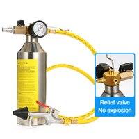 1Set Fahrzeug Reinigung Klimaanlage Werkzeug Flush Kanister Gun Sauber R134a R12 für Auto A/C Klimaanlage auto Reinigung Kit-in Werkzeugteile aus Werkzeug bei